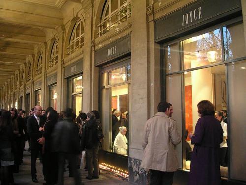 Galerie Joyce Palais Royale Paris 2004