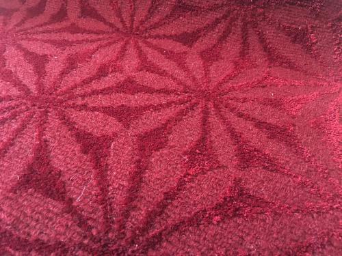Matsuri (oriental red) detail